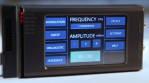 ERASynth Micro $199 12 5MHz – 6 4GHz Portable Synthesizer